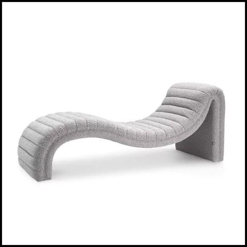 Cendrier en cuir de veau avec coutures noires 189-Black Shagreen 2 Cigars Yachting