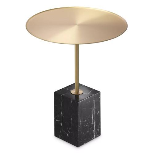 Sculpture en bronze massif patiné sur base en chêne noir 190-Unity Bronze