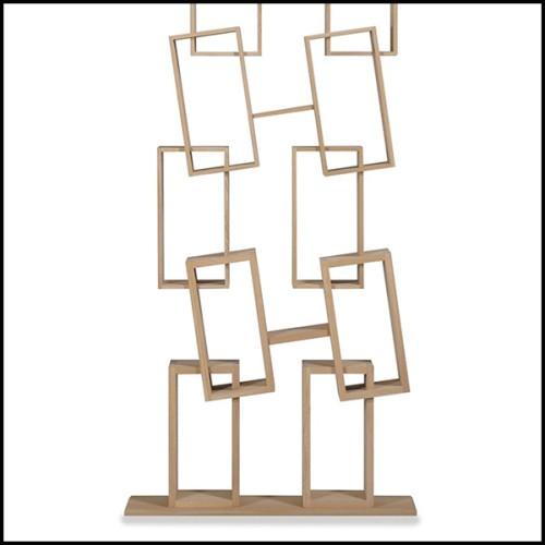 Table d'appoint en acier inoxydable finition cuivre brossé 24-Tosca