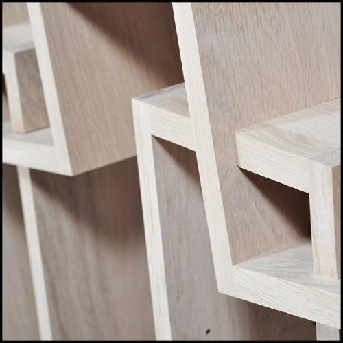 Table d'appoint en acier inoxydable finition cuivre brossé 24-Armstrong
