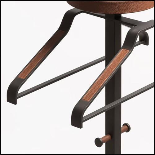 Lampe en aluminium coulé finition à la feuille d'or blanc 184-One Step