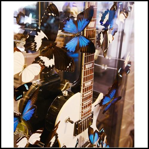 Boîte en marbre noir avec couvercle 162-Selenite and Marble Medium