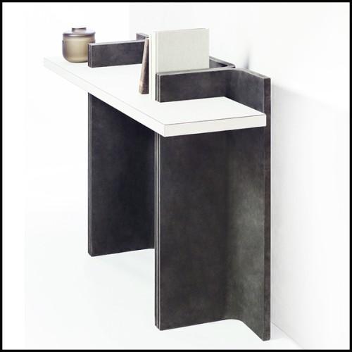 Chaise en frêne massif finition noir 28-Stanton