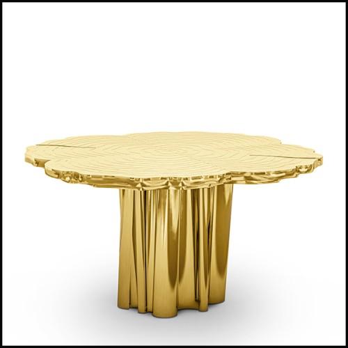 Chaise en bois avec tissu velours finition Savona Nude 24-Willis Savona