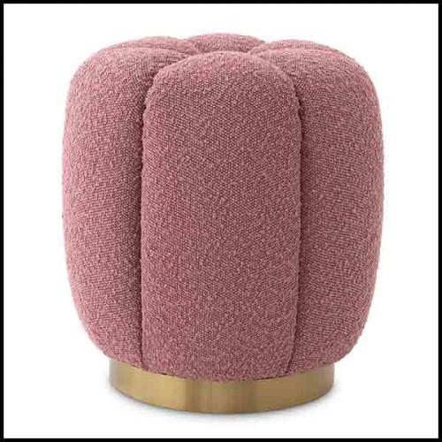 Backgammon en acajou et noyer massif avec charnière en noyer et surface de jeu en cuir incrusté 189-Guapo