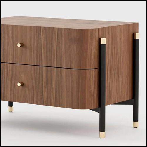 Chaise avec structure en aluminium et en polyéthylène indoor-outddor 178-Butterfly