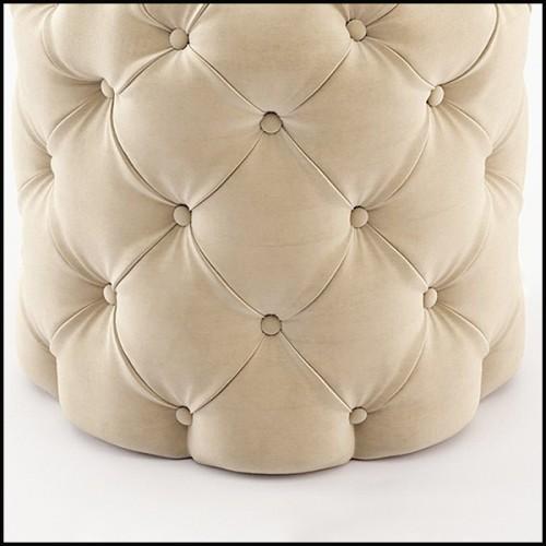 Table basse avec base en fer laqué avec plateau en marbre dark Emperador 154-Jay Marble