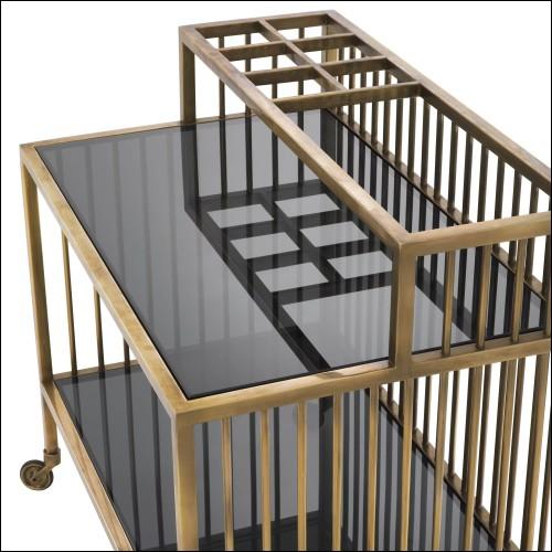 Miroir avec cadre et structure en noyer massif avec miroir amovible en verre 163-Portrait Walnut