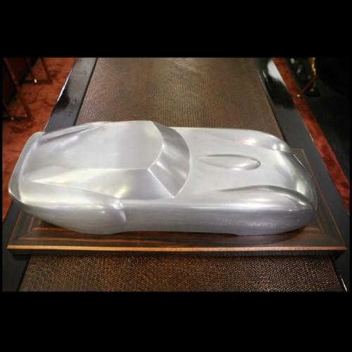 Horloge en aluminium et acier inoxidable poli 24-Navy