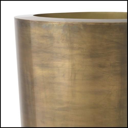 Table d'appoint finition chrome et avec plateaux haut et bas en verre biseauté 162-Casiopee chrome