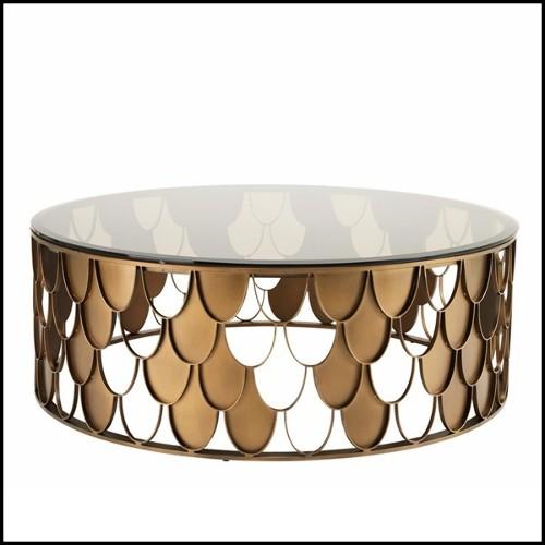 Chevalet avec structure en acier inoxydable finition nickel 24-Andy