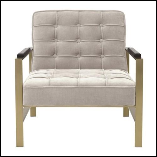 Miroir en verre en fusion avec cadre en métal poli 146-Slinking Full
