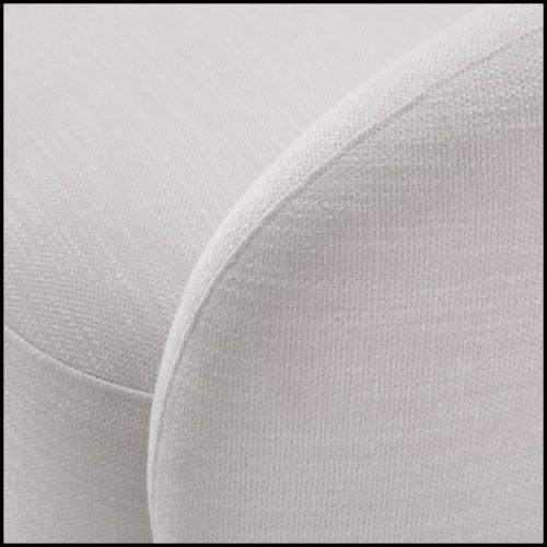 Table basse finition gold et avec plateaux haut et bas en marbre noir 162-Liz Black