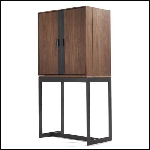 Miroir avec cadre en frêne massif et miroir en verre 163-Panel Long Ash