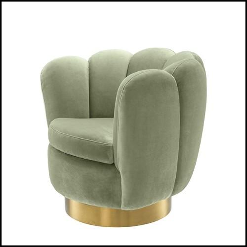 Suspension avec cadre en aluminium froissé et poli finition chrome 107-Bumpy Chrome