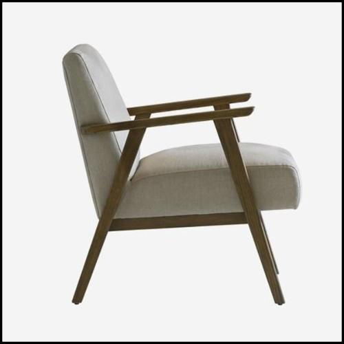 Table d'appoint finition gold avec plateaux supérieur et inférieur en marbre blanc 162-Amy White