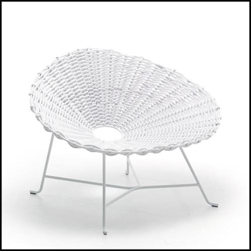 Table basse avec plateau en verre trempé fumé et base en laiton massif plaqué or 145-Waterflor Gold