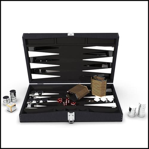 Applique avec structure composée de tubes en laiton massif finition brossé 151-Doe