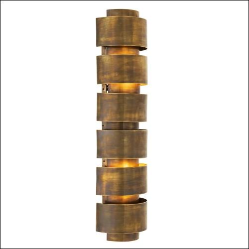 Table d'appoint avec structure en acier inoxydable finition argent et avec plateau en verre noir 173-Silverstairs