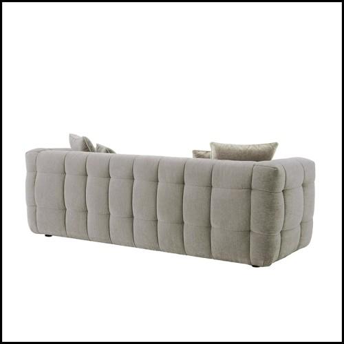 Table basse en acier inoxydable finition laiton satiné 173-Cloudy Brass
