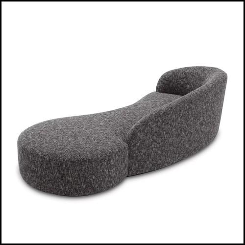 Sculpture en céramique avec fruits et feuillages en céramique blanche 162-Garden Fruits