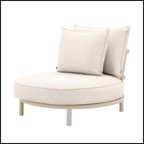 Fauteuil composé de peluches d'animaux alpins minutieusement confectionnées à la main 188-Chamonix