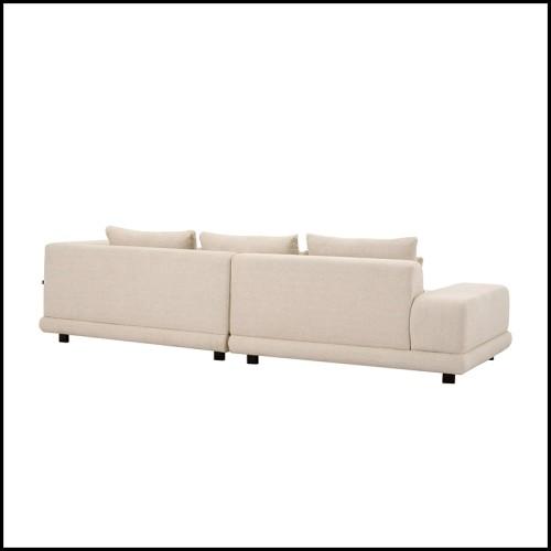 Table d'appoint en chêne massif avec lignes finition chêne brut et lignes finition chêne black 173-Lines Oak