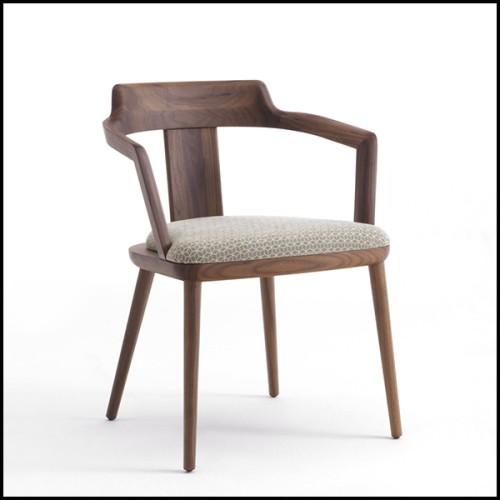 Table basse entièrement composé de chêne massif français 112-Trapezo
