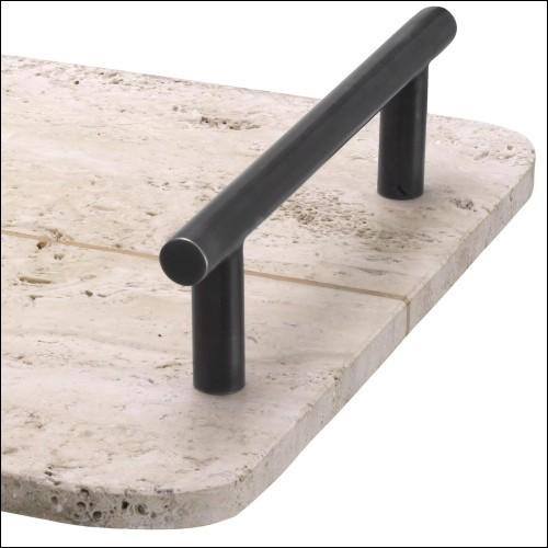 Table basse avec forme trapezoïdale avec structure en verre claire 194-Trapez Glass