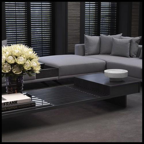 Sculptures en céramique blanche 195-elephants set of 2