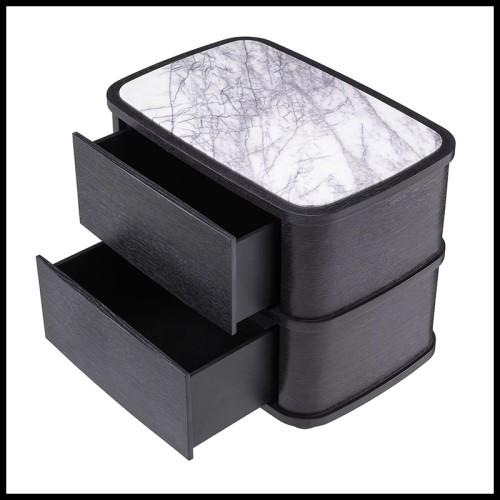 Lampadaire set de 2 en laiton brossé et laiton martelé avec verre de Murano PC-Palm leaves set of 2