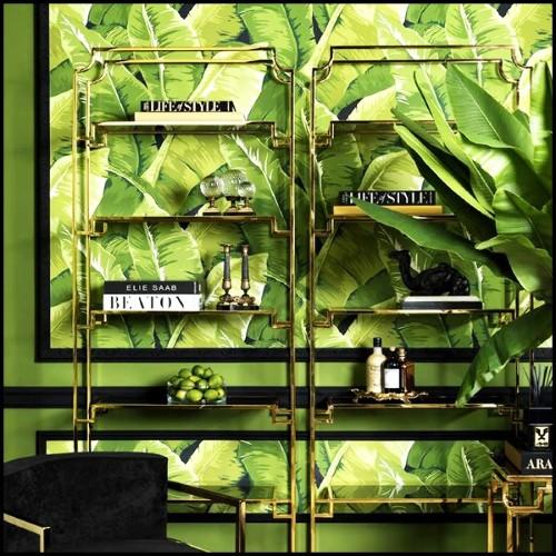 Cocoon Tree Beach, Structure en aluminium, tissage synthétique couleur végétal