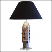 Table Lamp with combustion chamber from CFM56 engine from Boeing 737 and Airbus A320 PC-CFM56 Combustion Chamber
