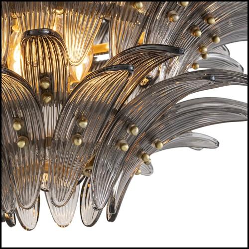 Lampe réalisée avec un authentique cylindre de moteur d'avion Piper PC-Piper Cylinder