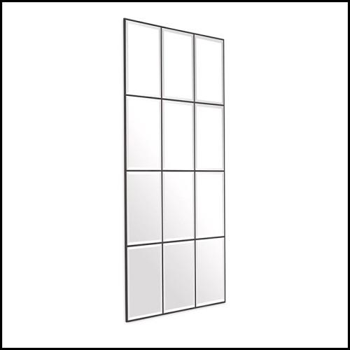 Sculpture étalons set de 2 en céramique finition blanc 195-Stallion White Set