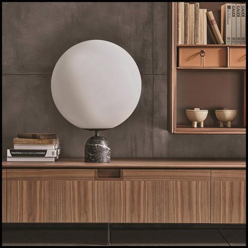 Lampe en laiton et aluminium avec finition gold 24-Pegaso