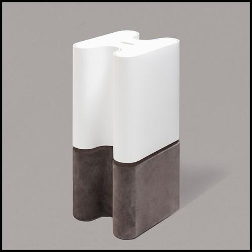 Paravent en bois finition classique black et panneaux en canne