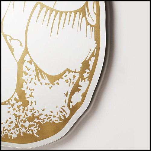 Table d'appoint en marbre blanc de Carrare 24-Melody