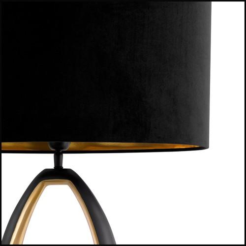 Applique en métal finition bronze highlight avec verre claire 24-Gulf L