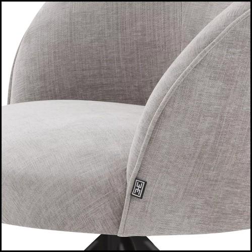 Lampe à poser finition bronze highlight et verre blanc 24-Pascal