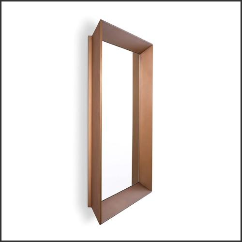 Miroir finition gold et miroir convexe 24-Solaris S