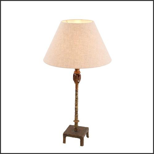 Mirror in gold finish and convex mirror 24-Solaris L