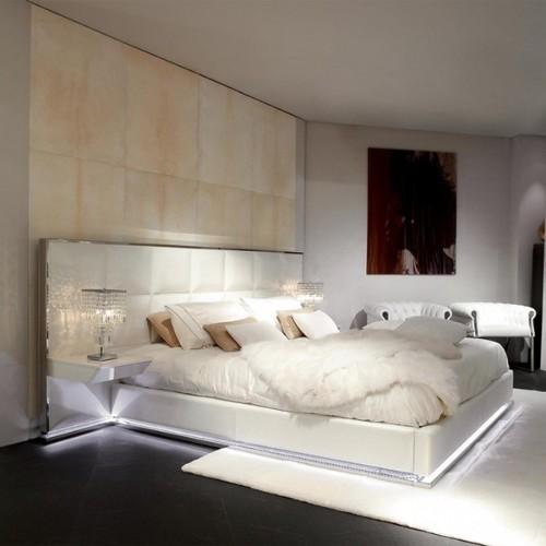 Horloge avec structure en acier et aluminium finition nickel 24-ALAIN DE BRIGNAC L