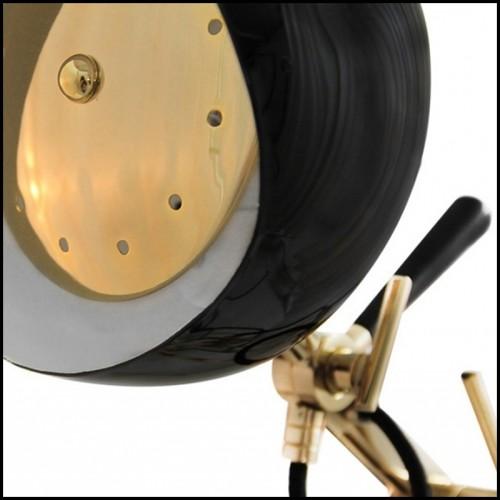 Tabouret multifaces en céramique finition dorée 162-Multifaces Doré