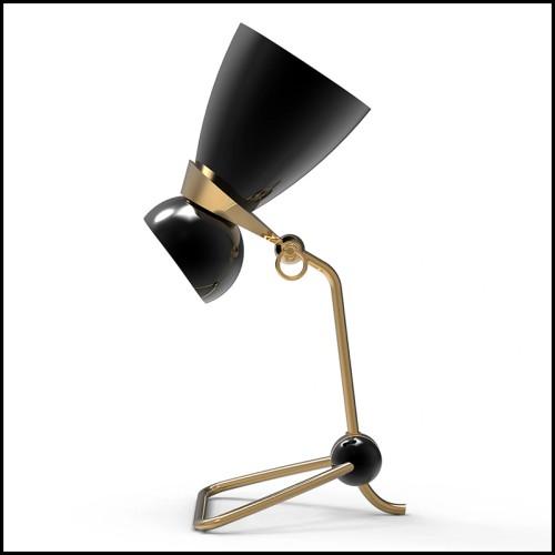 Vase multifaces réalisé en céramique dans une finition dorée 162-Multifaces Gilded