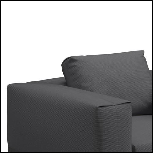 Miroir rectangulaire avec cadre poli en laiton 164-Spheres Rectangular