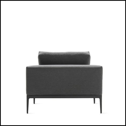 Miroir de forme ronde avec cadre en laiton poli Spheres Round