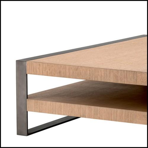 Lampe de table en laiton poli plaqué or et avec verre cristal 164-Vitta