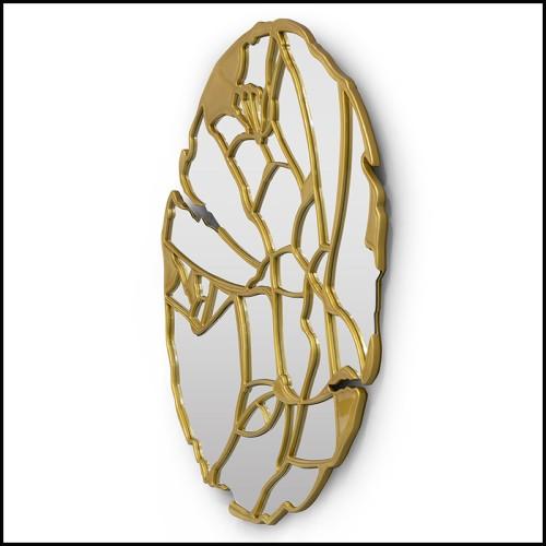 Vase en acajou massif sculpté à la main au fini espresso 119-The Mahogany