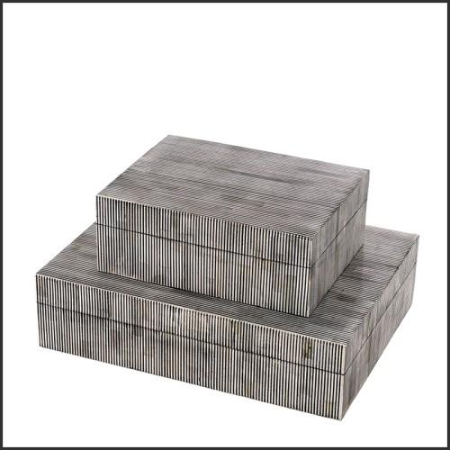 Table basse en verre dépoli et verre fumé 194-Glass Pebbles